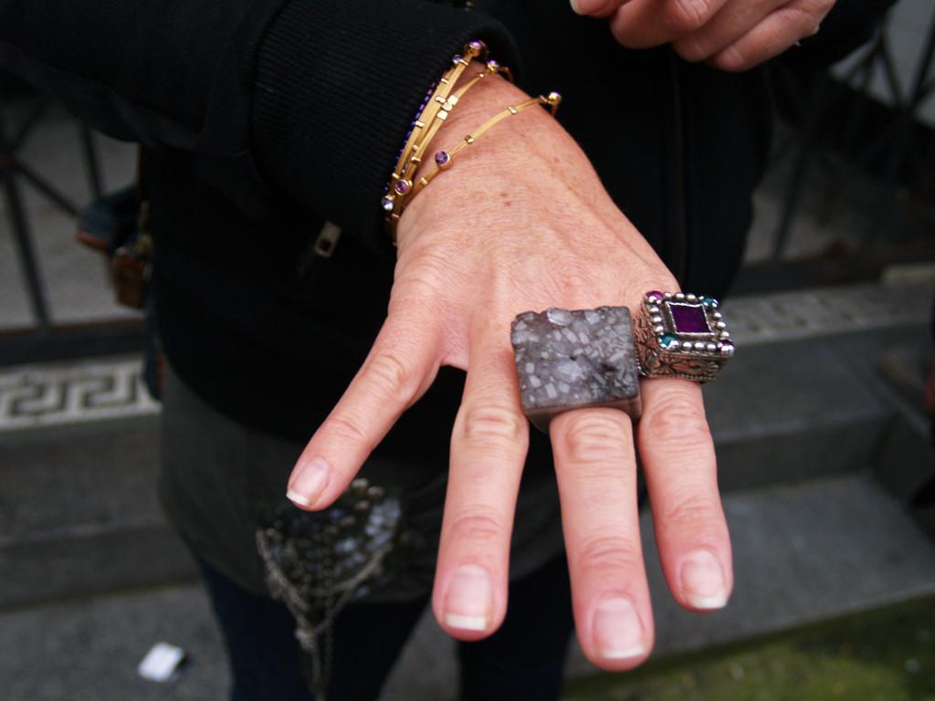 Seattle fashion: Balinese rings