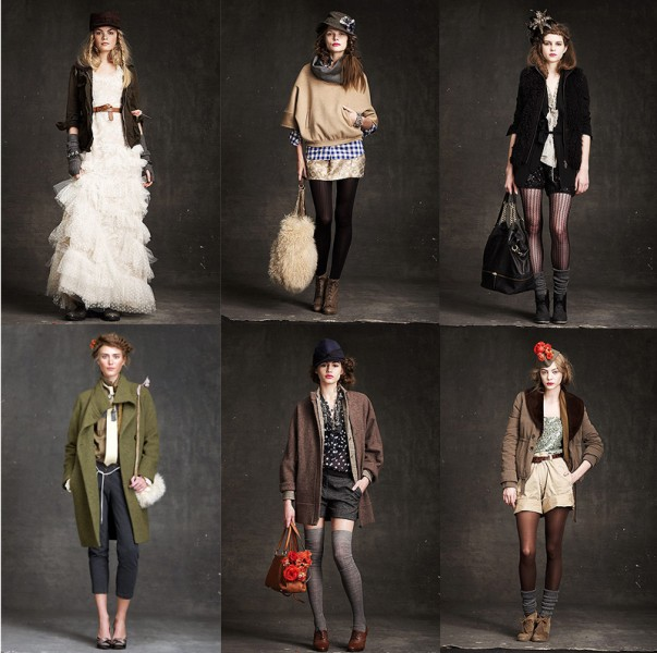 JCrew fall 2010 women's collection