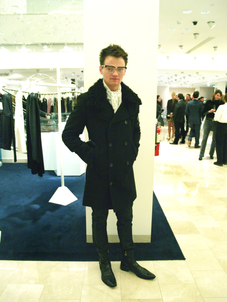 Fashion Night Out Seattle 2010: Men's Chanel Coat