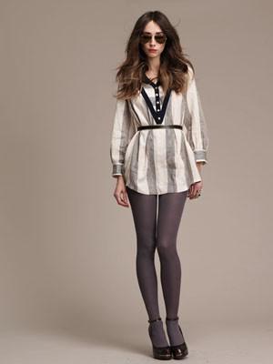 Designer Lauren Moffatt: Striped Shirt Dress