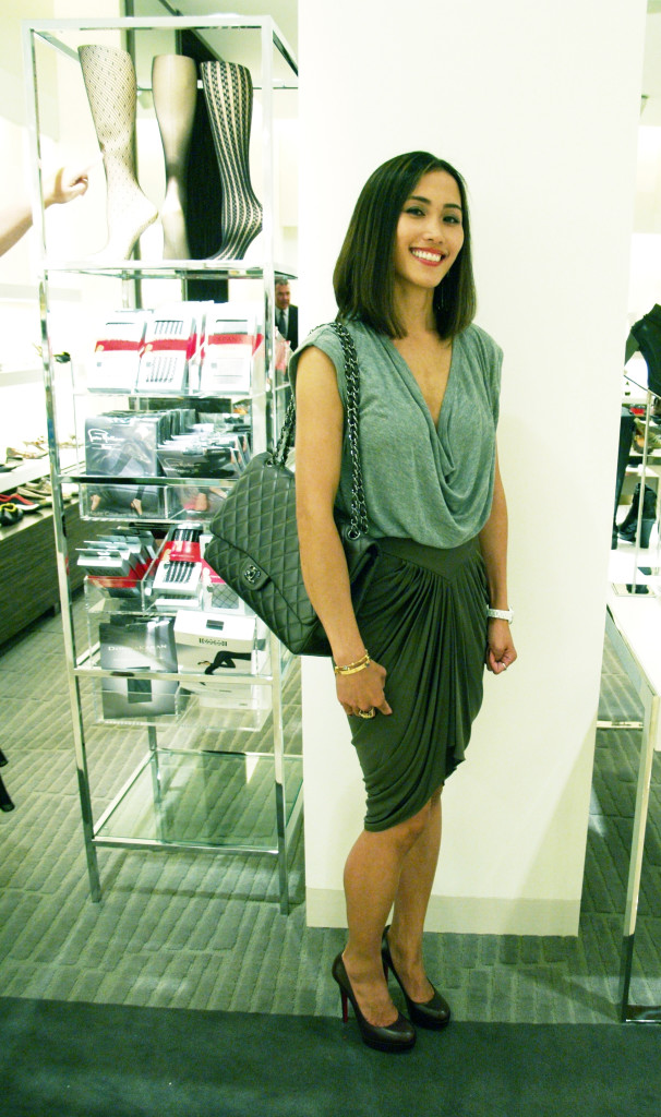 Fashion Night Out Seattle: Alexander Wang Dress and Louboutins