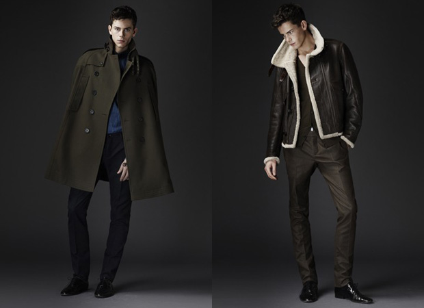 Military Trends: Men's fall 2010 Burberry Prorsum Collection