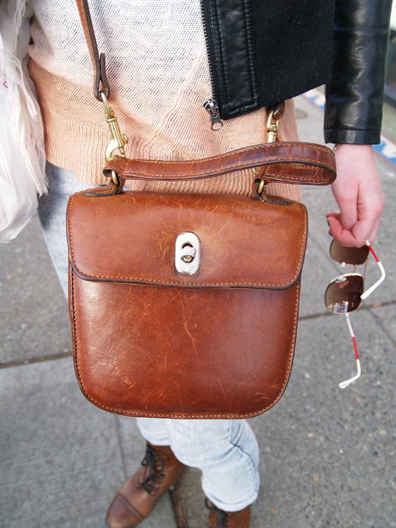 Vintage Style Cross Body Bag 91