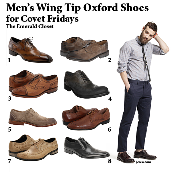 Wearing Wing Tip Shoes With Jeans