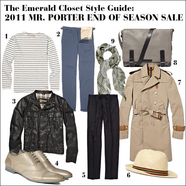 Mr. Porter Sale Editor's Picks 2011