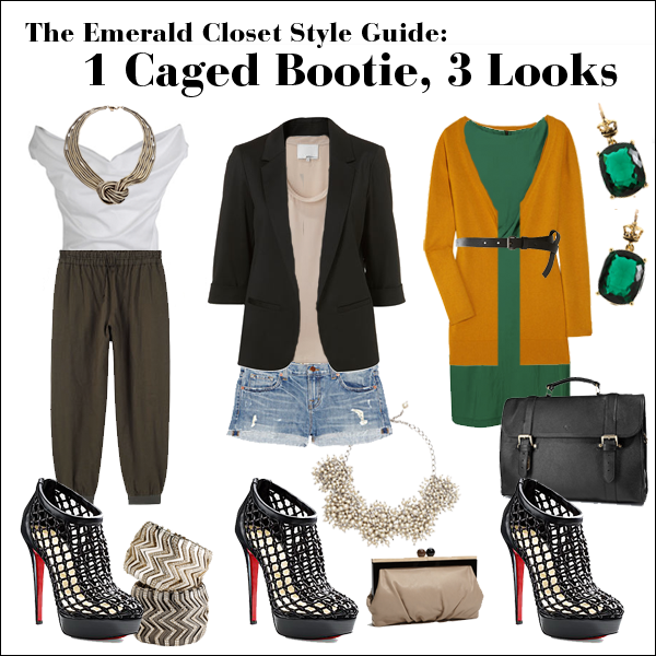 caged bootie style guide