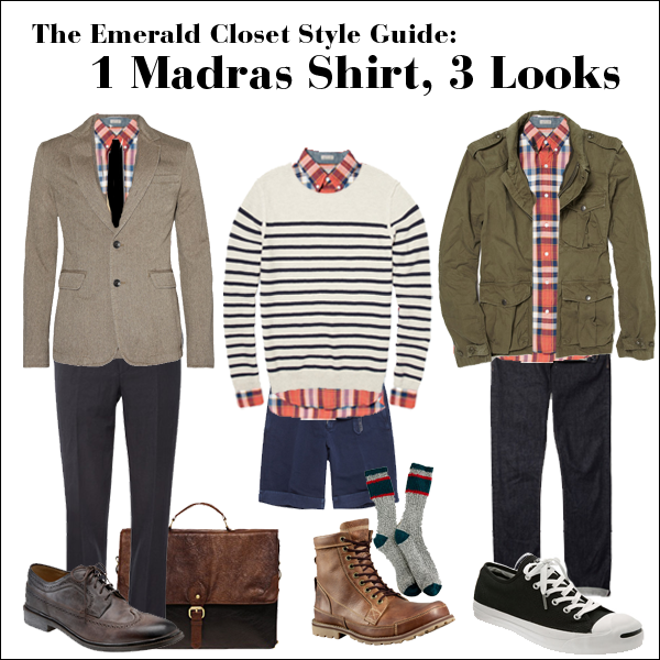 one shirt, three looks style guide