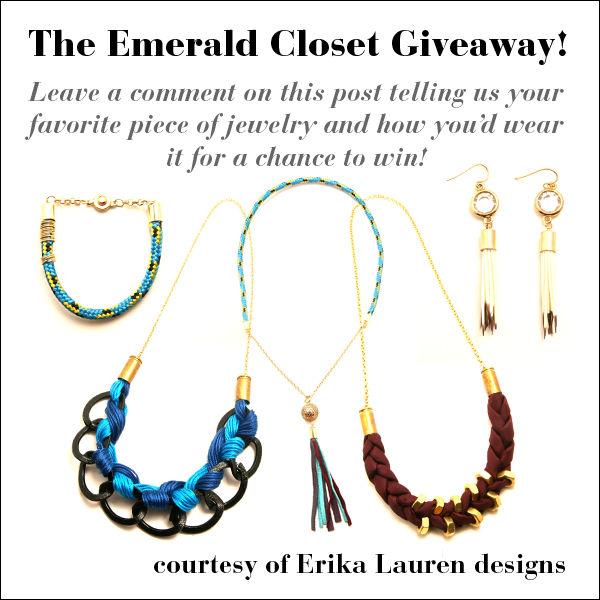 jewelry contest, The Emerald Closet
