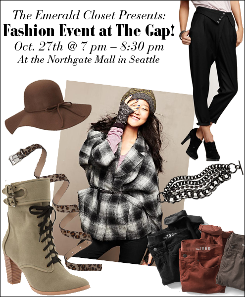 Fashion Event at The Gap Northgate Mall
