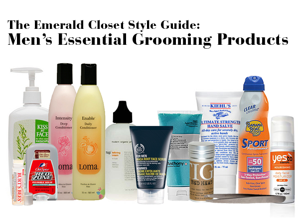 male grooming products