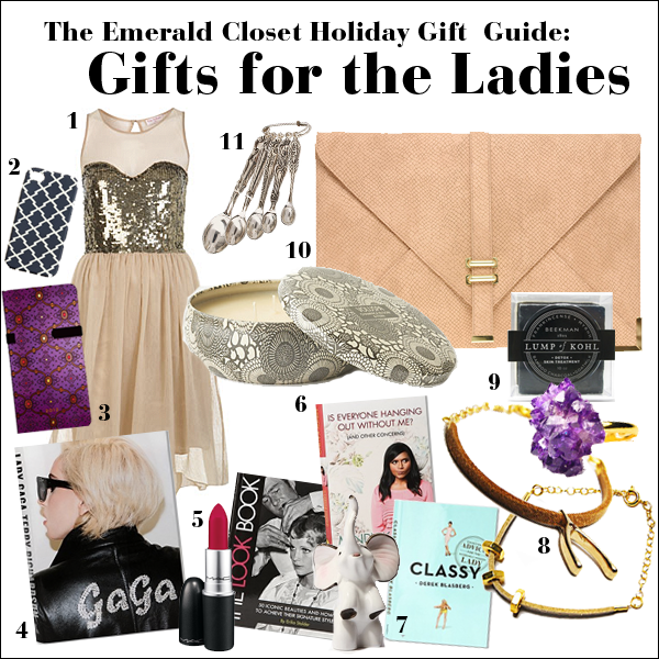 womens gift guide 2011