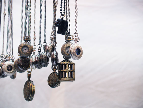 pocket watch necklaces