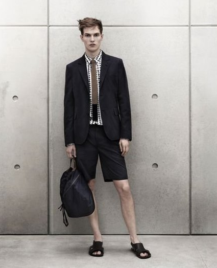 marni for H&M mens short suit