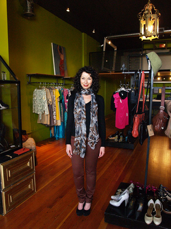 Natalia Biner of Seattle consignment boutique