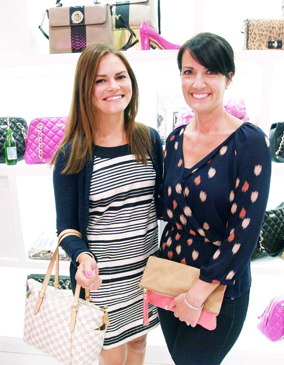 Kate Spade customers enjoying party