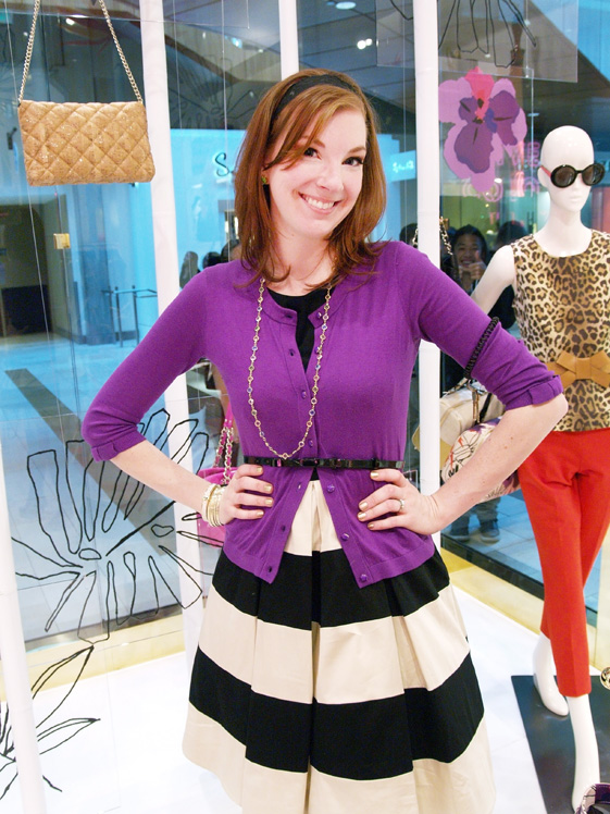 Kate Spade employee outfit