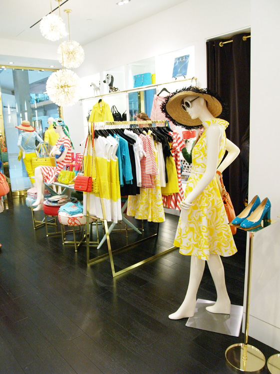 Kate Spade store with spring 2012 collection