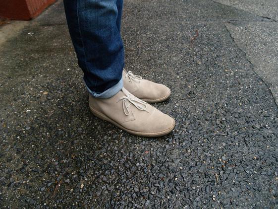 clarks desert boots mens
