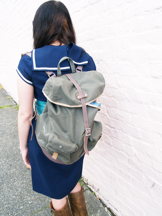 worn duffle for women