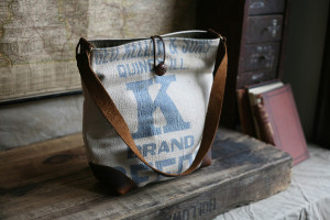 salvaged handbag