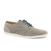 gray suede summer brogues