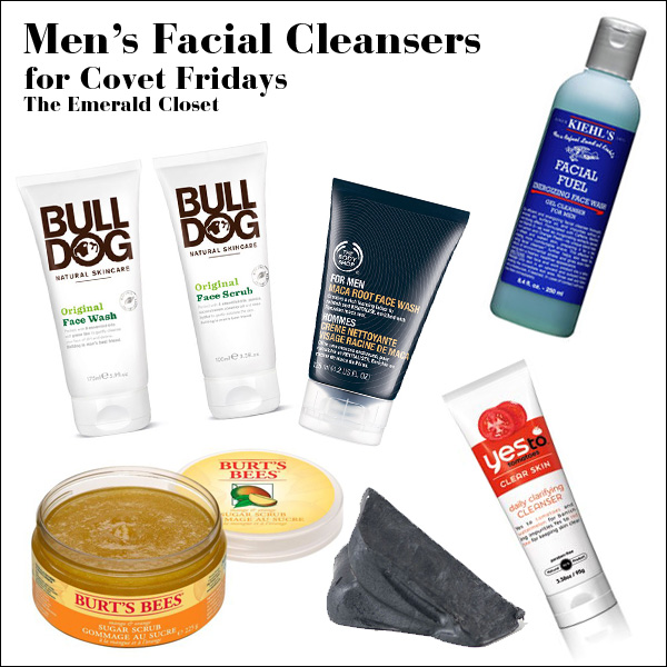 mens facial wash essentials