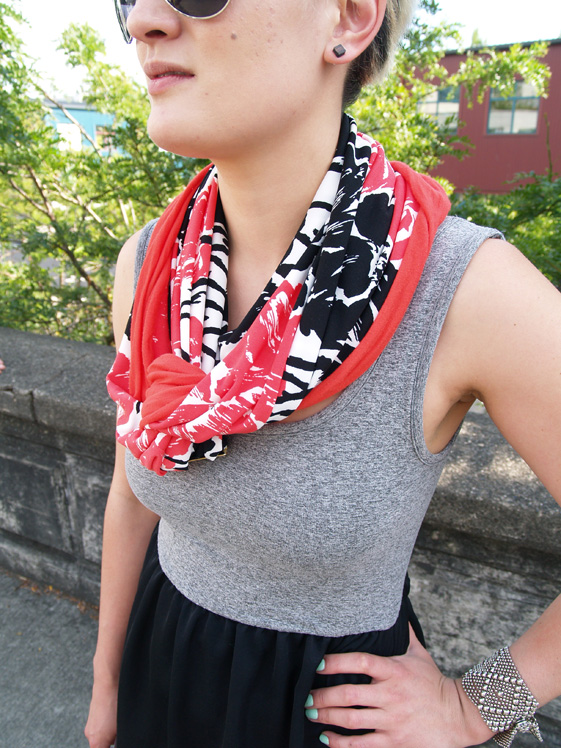 artisan scarf made in seattle