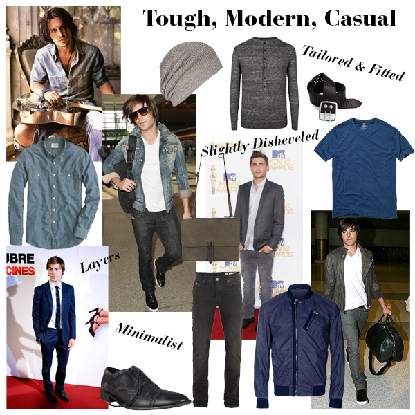 Tough Modern Casual Mood Board The Emerald Palate